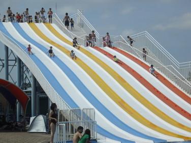埼玉県水上公園スライダープール