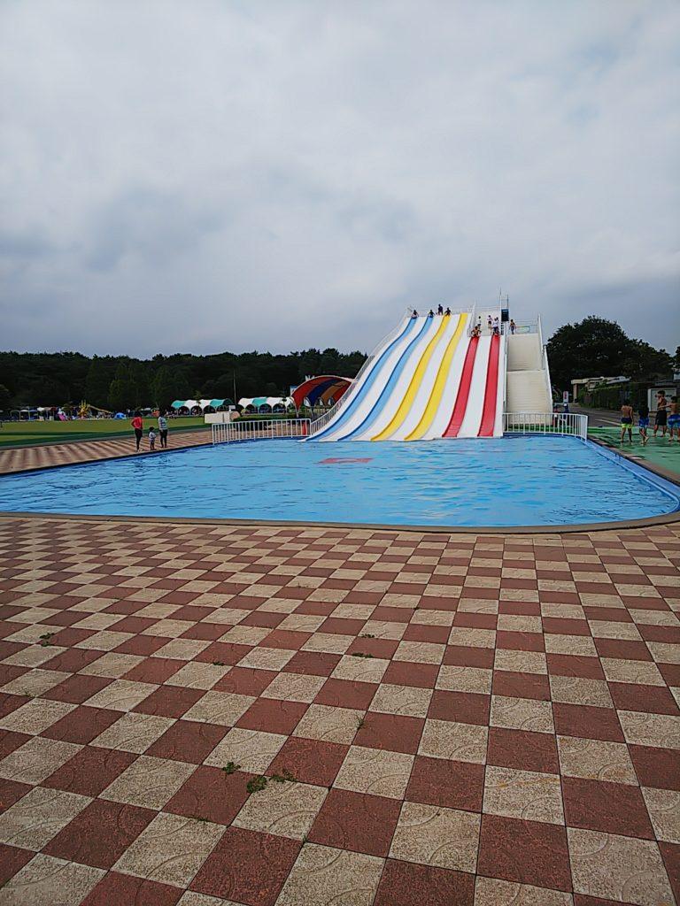 さいたま水上公園スライダー滑走