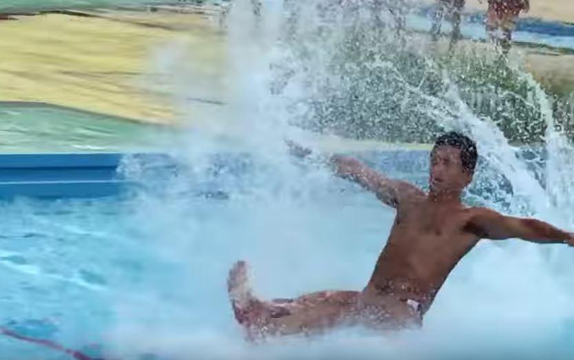 しらこばと水上公園スライダーにいさん