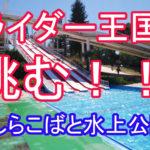 スライダーおじさんがいるスライダー王国しらこばと水上公園へ!