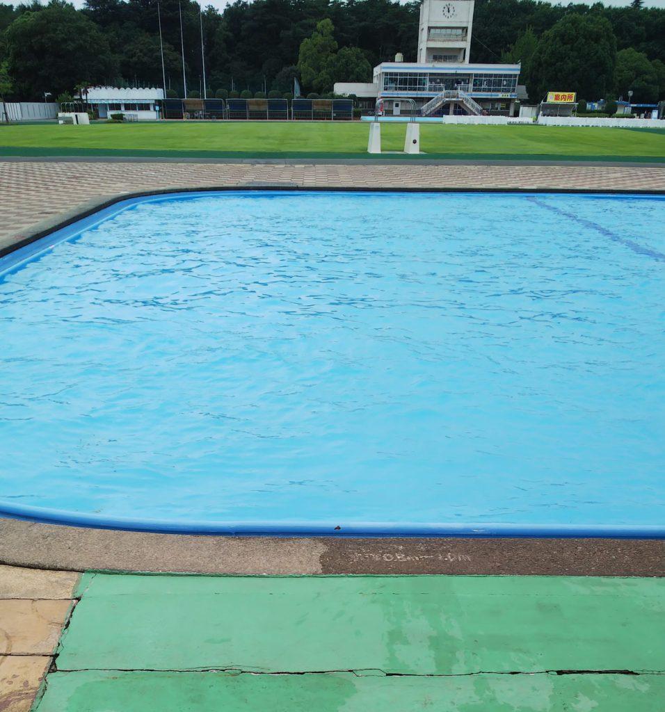 さいたま水上公園スライダーおじさん水面滑走