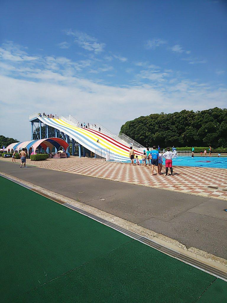 さいたま水上公園スライダー滑走スライダーおじさん